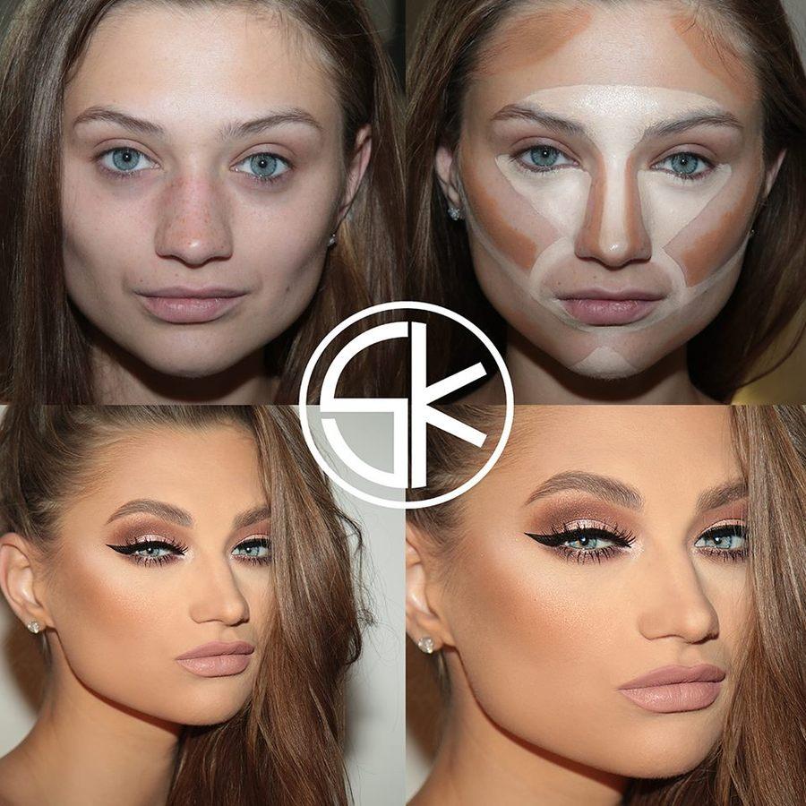 Как быстро сделать макияж в школу